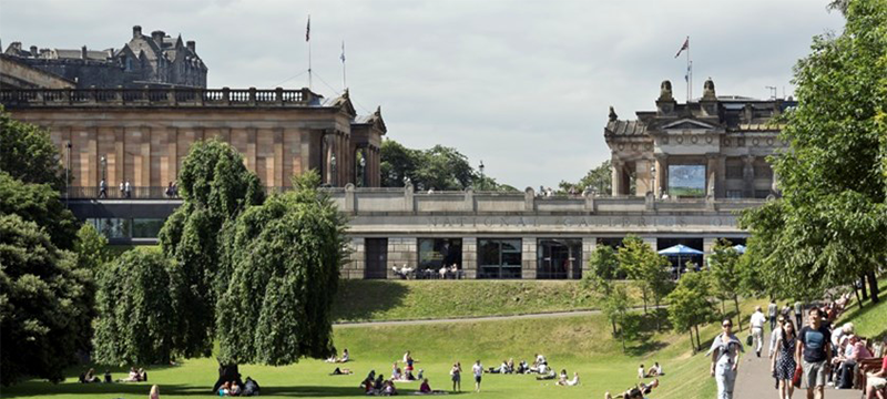Exterior image of Scottish National Gallery
