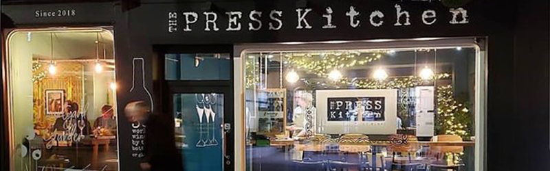 Image of the exterior of The Press Kitchen