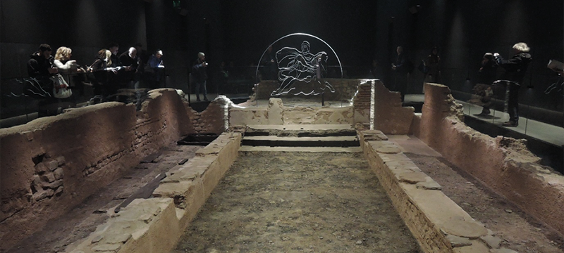 Reconstruction of the Temple of Mithras