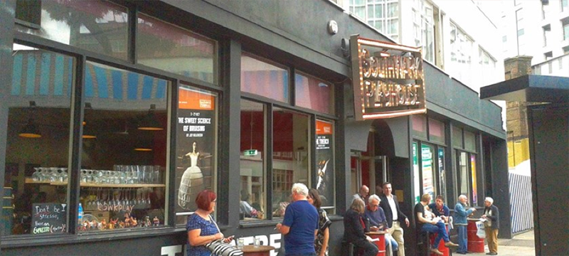 Exterior of Southwark Playhouse