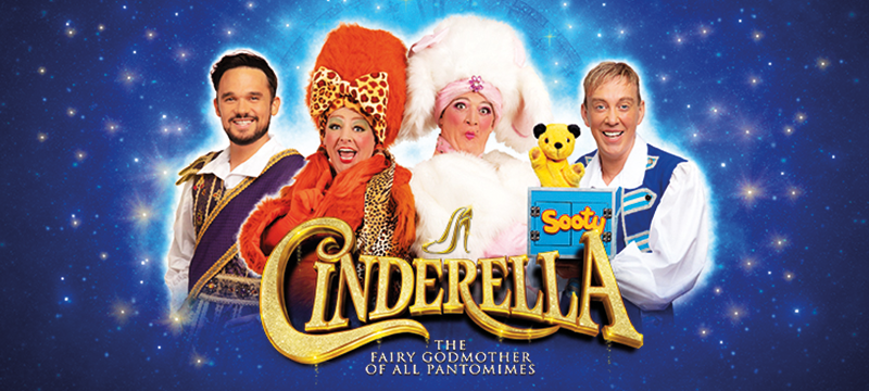 Image for the Cinderella show at the Theatre Royal