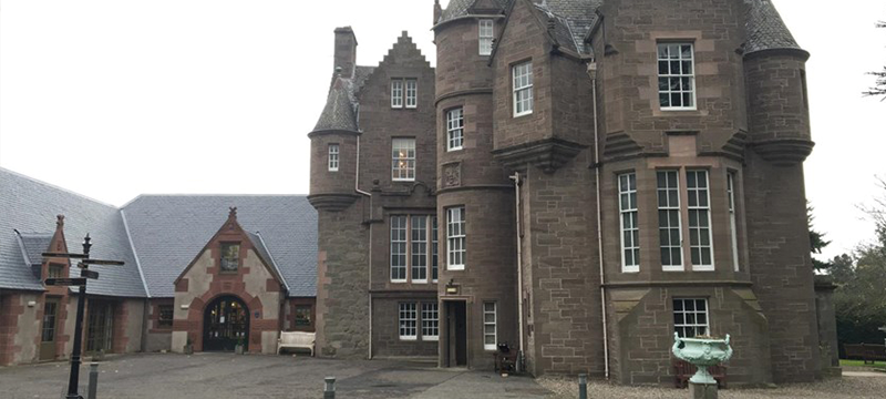 Image of the exterior of The Black Watch Castle and Museum
