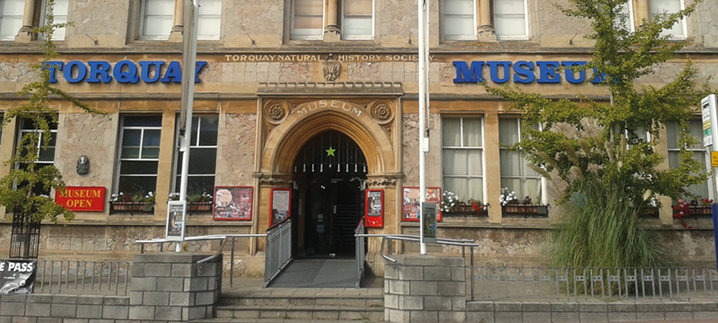 Entrance to Torquay Museum