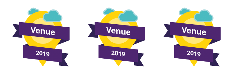 Venue of the Year 2019 icon repeated