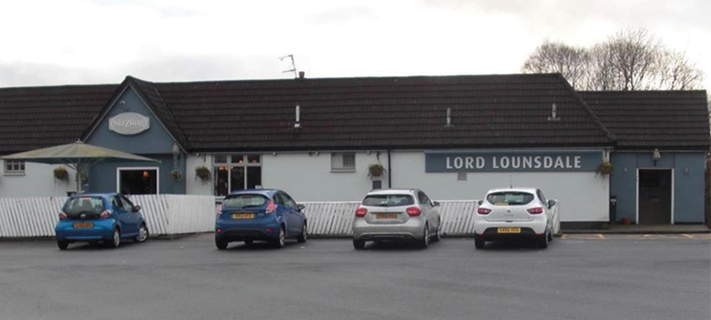 Exterior of The Lord Lounsdale