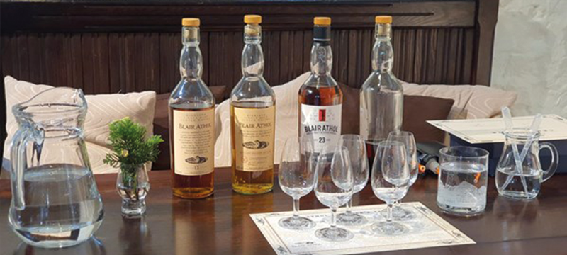 Image of bottles of whisky