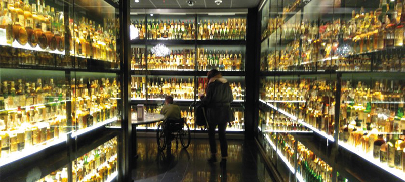 Image of whisky room.