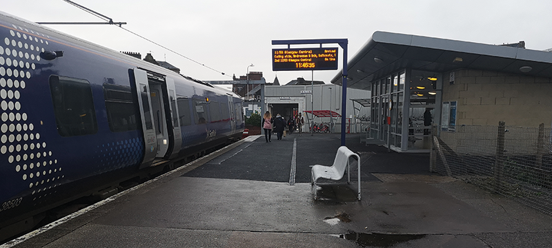 Image of Largs train station