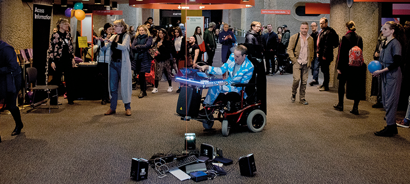 Image from the Barbican's Disabled Access Day event (photo by Camilla Greenwell)