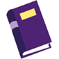 Image of a purple book
