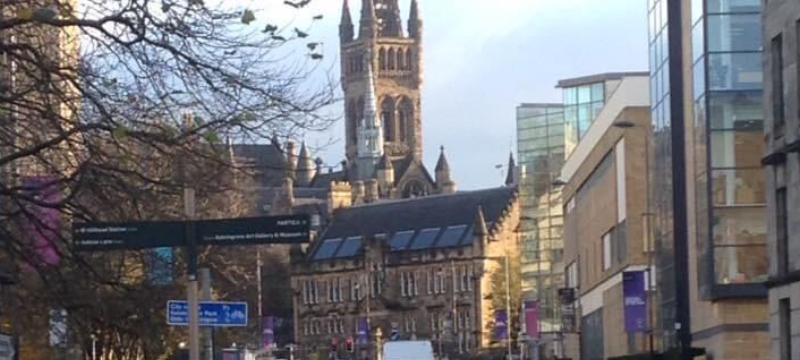 Image of Glasgow University.