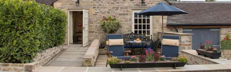 Image of The Dairy's private patio at Cottage in the Dales