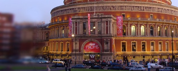 A photo of the Royal Albert Hall.