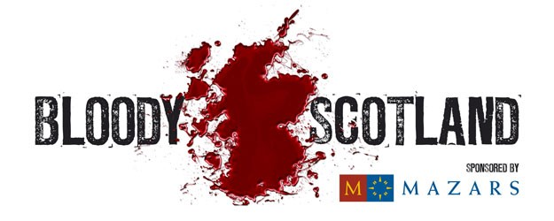 Photo of Bloody Scotland banner.