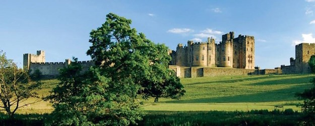 Photo of Alnwick Castle.