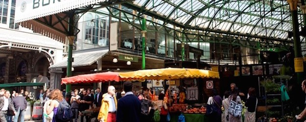 Photo of Borough Market.