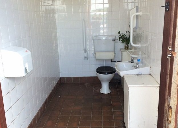 Photo of Kilchattan Bay accessible toilet.