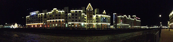 Rosa Khutor by Night