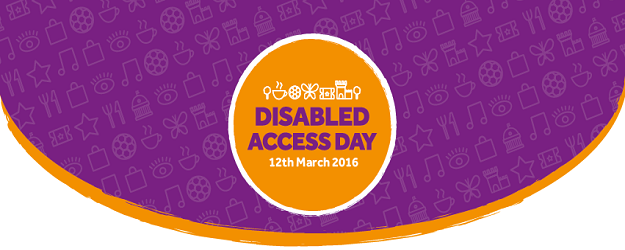 Disabled Access Day banner.