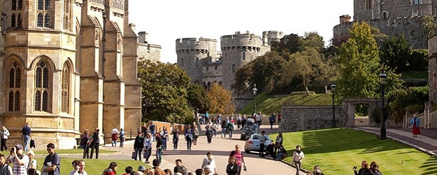 Photo of Windsor Castle.
