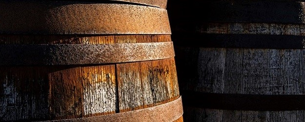 Photo of barrels.