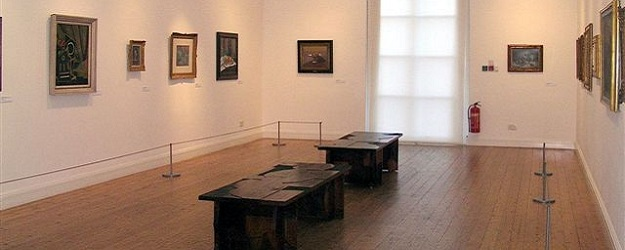 Photo of Estorick gallery.