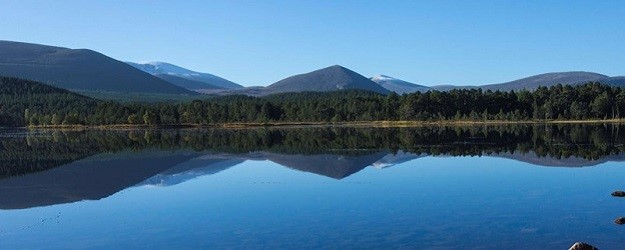 Photo of the Cairngorms.