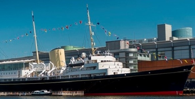 Photo of Royal Yacht Britannia.