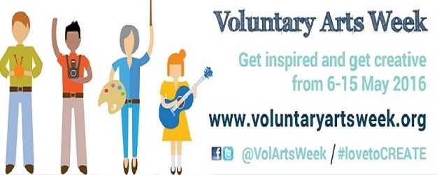 Voluntary Arts Week cartoon.