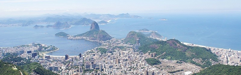 Photo of Rio skyline.