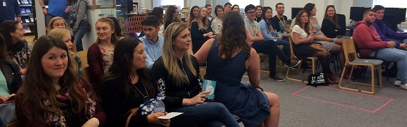 Photo of the audience at the workshop.