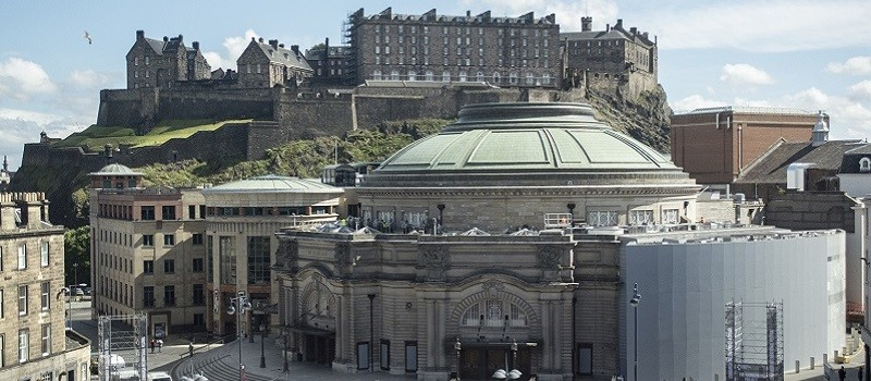 Photo of Usher Hall.