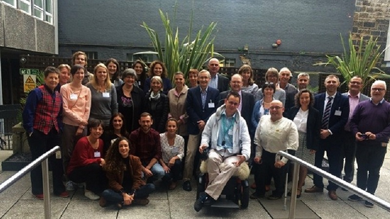 Photo of EU Accessible Tourism Conference delegates.