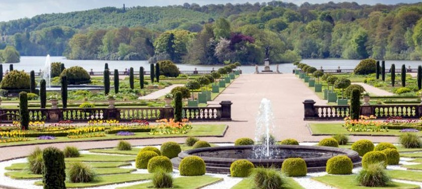 A photo of Trentham Estate Gardens.