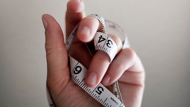 Photo of a measuring tape.