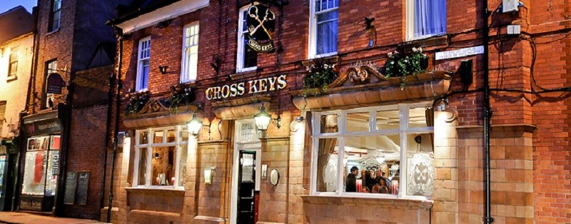 Photo of Cross Keys restaurant.