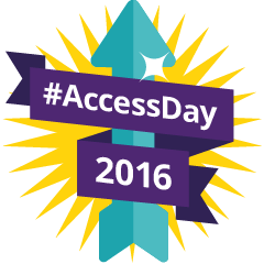 Disabled Access Day 2016 Badge
