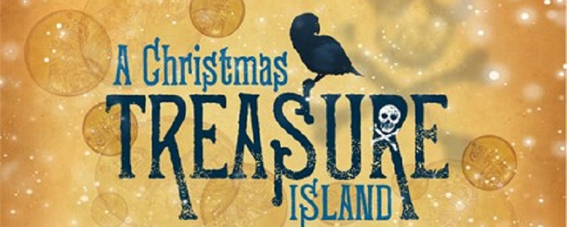Photo of A Christmas Treasure Island poster.