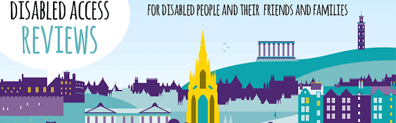 Disabled access reviews graphic.