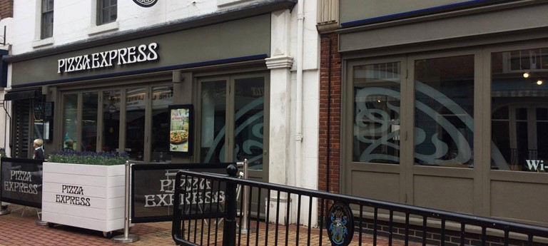 Pizza Express High Street Rugby Restaurant With Disabled