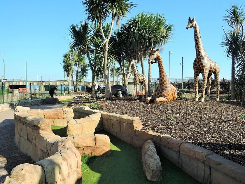 Safari Adventure Golf with Disabled Access - Dawlish