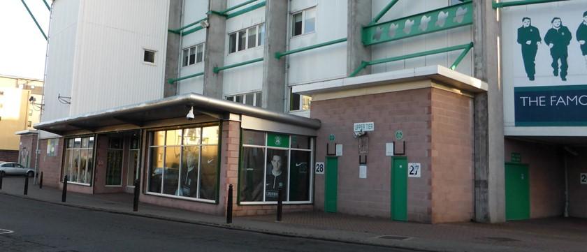 Hibernian FC Club Store - Disabled Access - Edinburgh - Euan's Guide