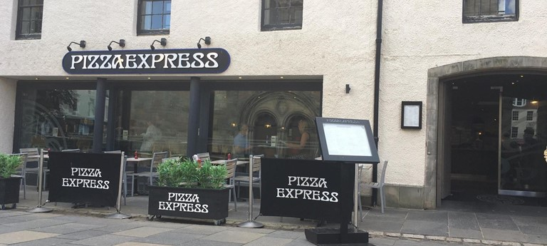 Pizza Express Restaurant With Disabled Access St Andrews