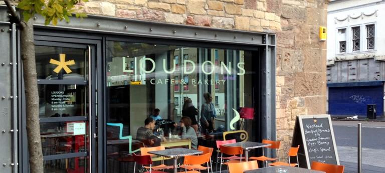 Loudons Cafe Coffee Shop Disabled Access Edinburgh
