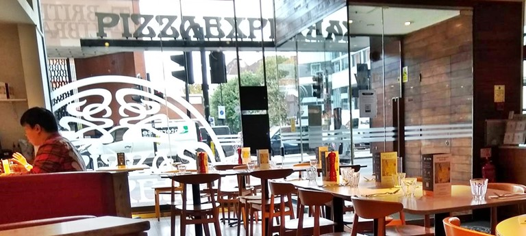 Pizza Express Restaurant With Disabled Access London