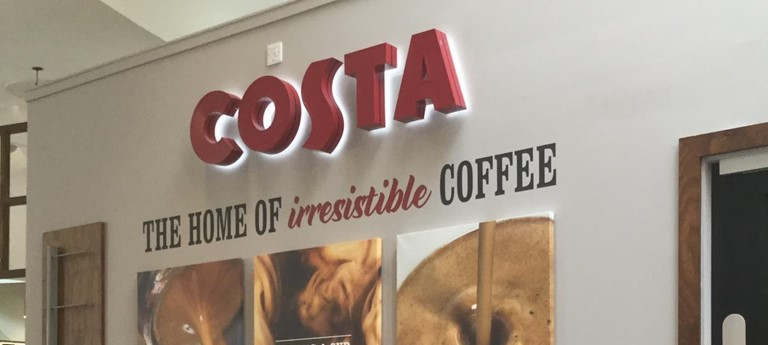 Costa Coffee The Hub With Disabled Access Glasgow Euans
