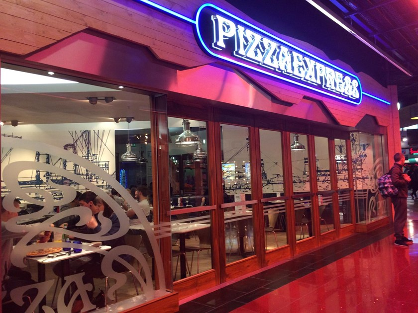 Pizza Express Braehead With Disabled Access Euans Guide