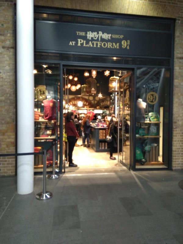 The Harry Potter Shop Accessible Film Merchandise Shop