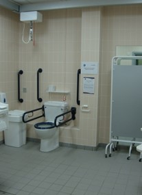 Changing Places at Neptune Leisure Centre