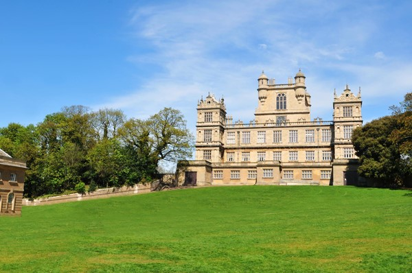 Picture of Plenty Wollaton Hall on a hill